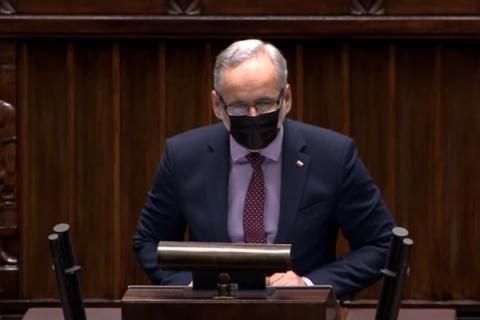 Polska: Poseł Braun będzie tłumaczył się w prokuraturze. Znamy treść zawiadomienia Elżbiety Witek